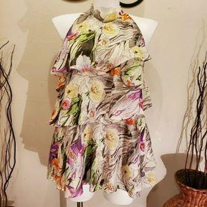 Lane Bryant,Floral Top Blouse Plus Size 18/20